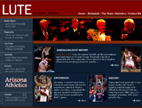 Lute Olson -- University of Arizona -- Member of AllCoachNetwork.com
