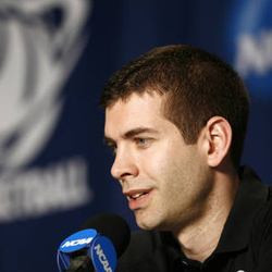 After leading Butler to an 11-1 start, Brad Stevens earned the Hugh Durham Award mid-season coaching honors.